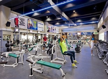 Cynergi Health and Fitness Club in Malta