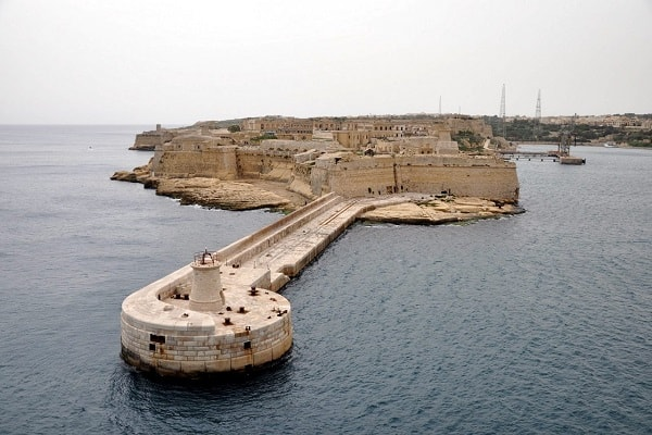 Fort Rinella in Malta