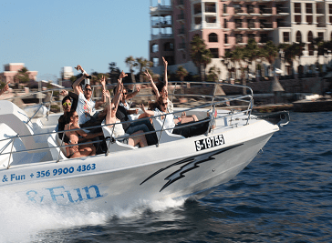 Sun and Fun Water Sports in Malta